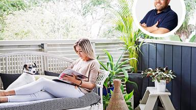 How to style the comfiest outdoor area ever