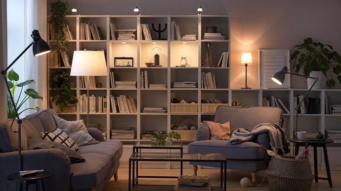 LEDs are useful for task and ambient lighting purposes. Photo courtesy of IKEA.