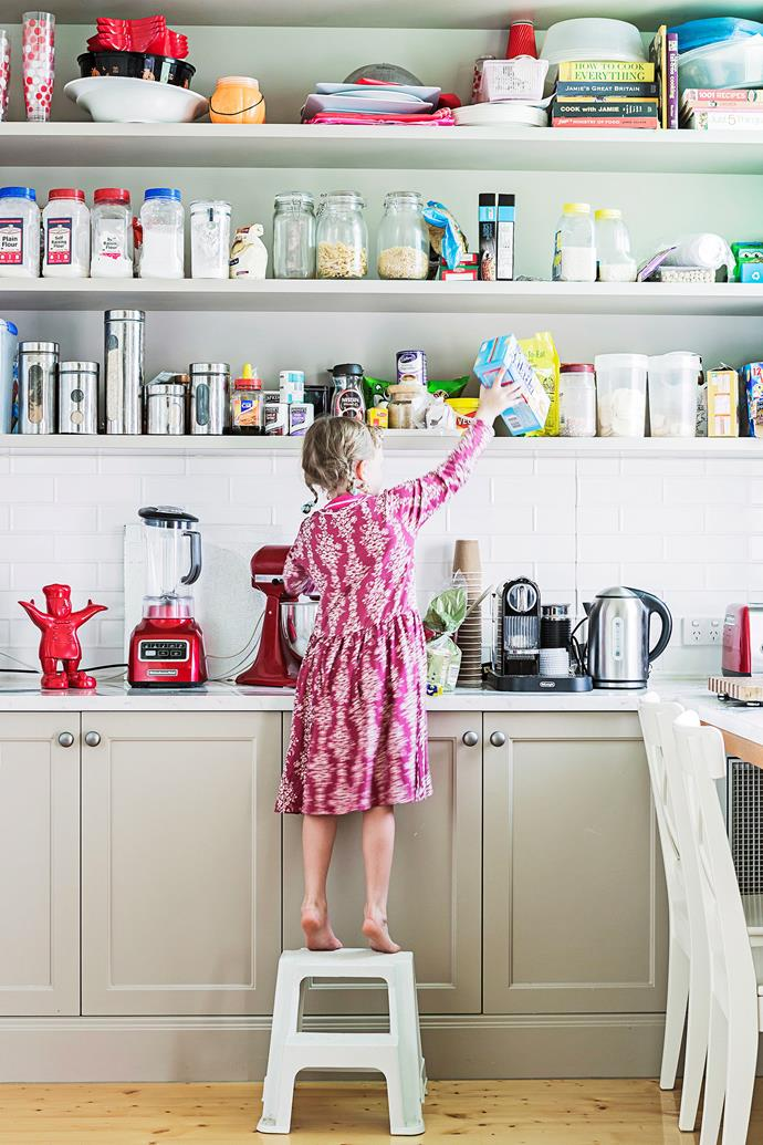 """Keep your kitchen cupboard in shape with these simple [food storage hacks](http://www.homestolove.com.au/tips-for-organising-your-pantry-3461