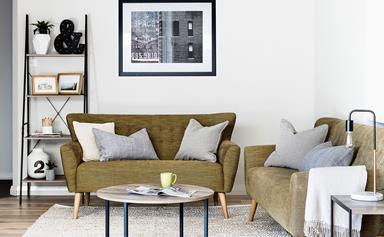 30-minute living room makeover