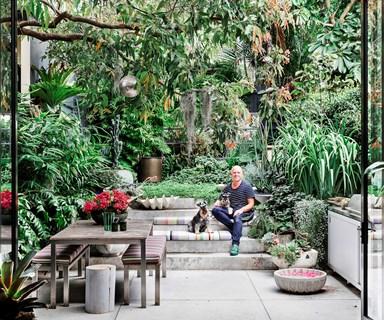 A florist's inner city oasis