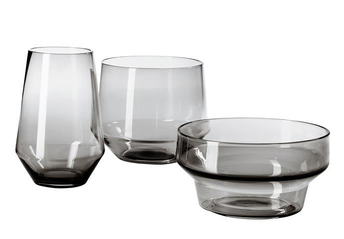 IKEA PS 2017 vase, set of 3, $39.99. **Designer:** Iina Vuorivirta