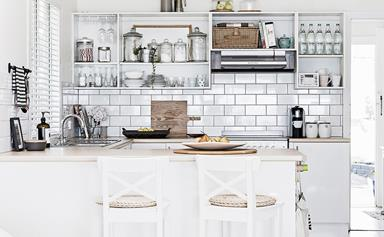 Kitchen storage: away or display?