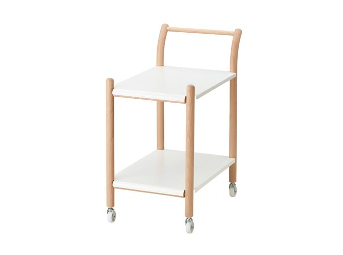 Side table on castors, $139. **Designer:** Thomas Sandell