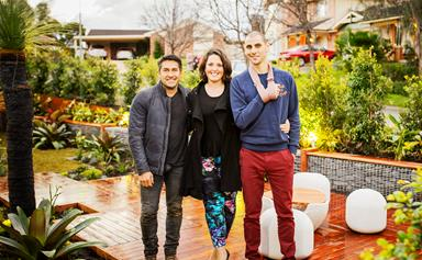 Before and after: Jamie Durie's creative garden makeover