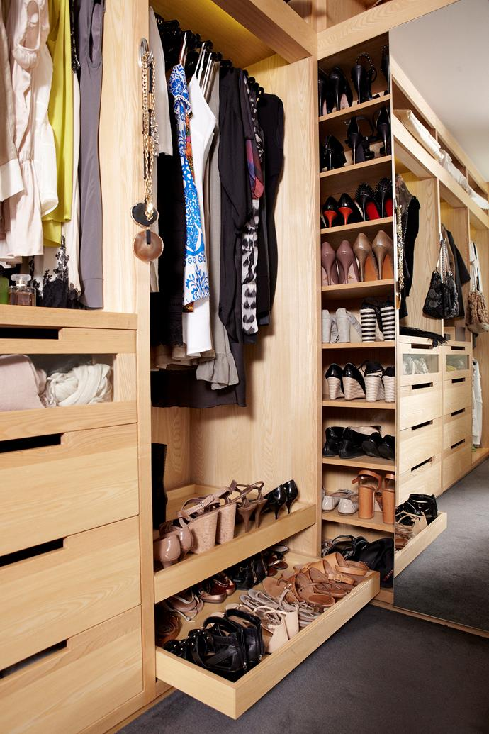 Good-quality coat hangers stop creases in trousers as well as make your robe look up to date and organised. Photo: bauersyndication.com.au