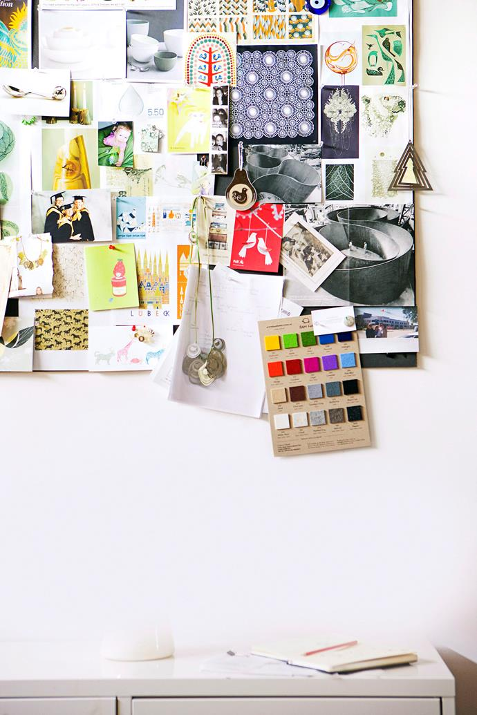 "Want to get creative and bring your design vision to life? It all starts with a [moodboard](http://www.homestolove.com.au/how-to-create-a-moodboard-4238|target=""_blank"")."