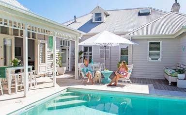 A Hamptons-coastal cottage in bayside Melbourne