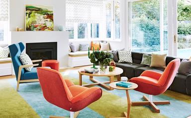 Colour transforms a Sydney Federation villa