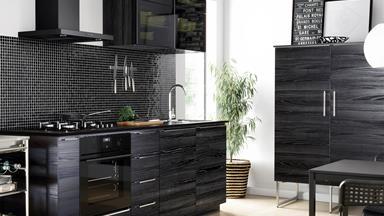 Trend alert: Black kitchens
