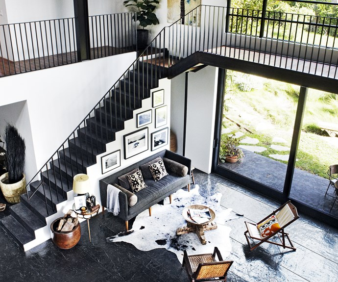 warehouse style home