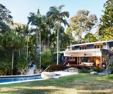 A Japanese-inspired home in the Queensland rainforest