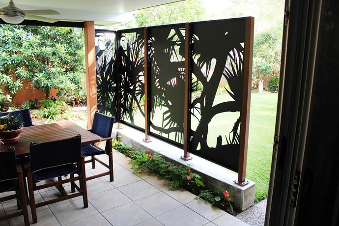 "This Kirra screen from [Decorative Screens Direct](http://www.decorativescreensdirect.com.au/|target=""_blank""