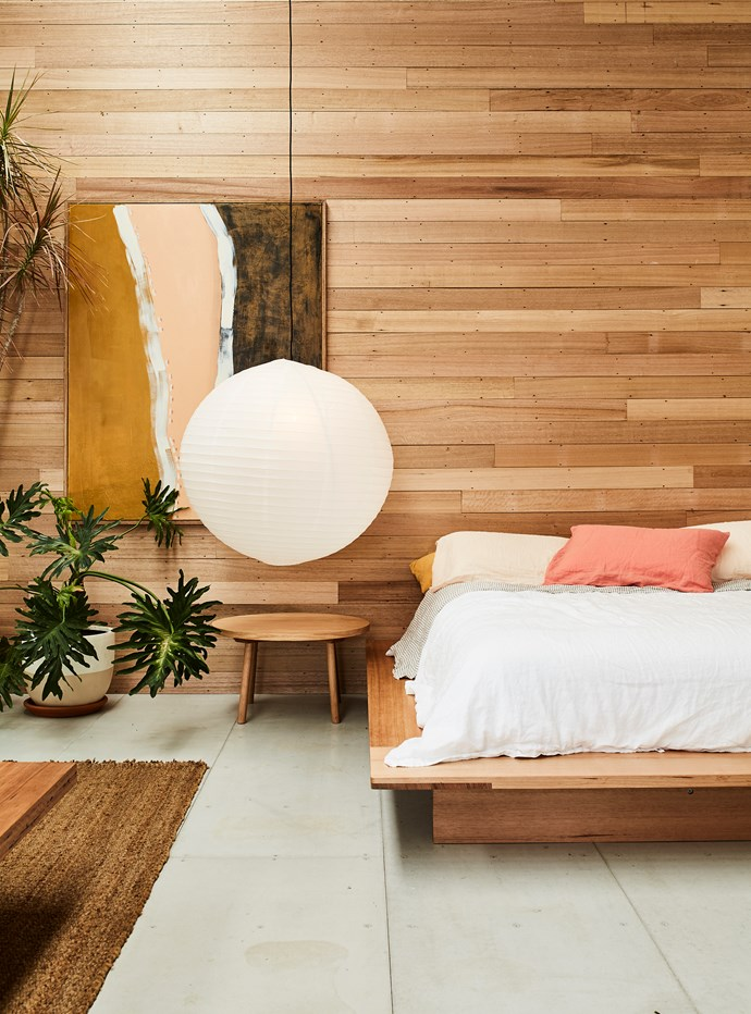 Earthy terracotta tones, warm timber and an abundance of indoor greenery sets tone in the showroom.