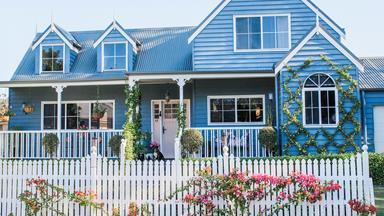 An owner-builder couple create their dream home