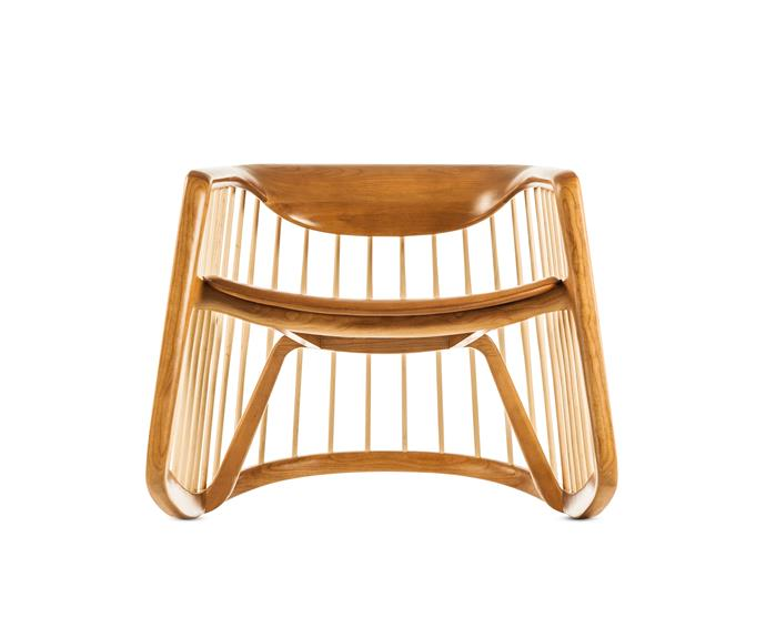 Bernhardt design 'Harper' rocking chair, $6768.30, from [Ke-Zu](http://www.kezu.com.au/).