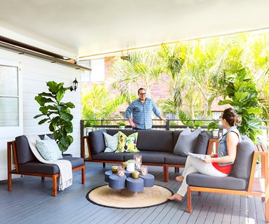 A live-in renovation of a Federation Queenslander