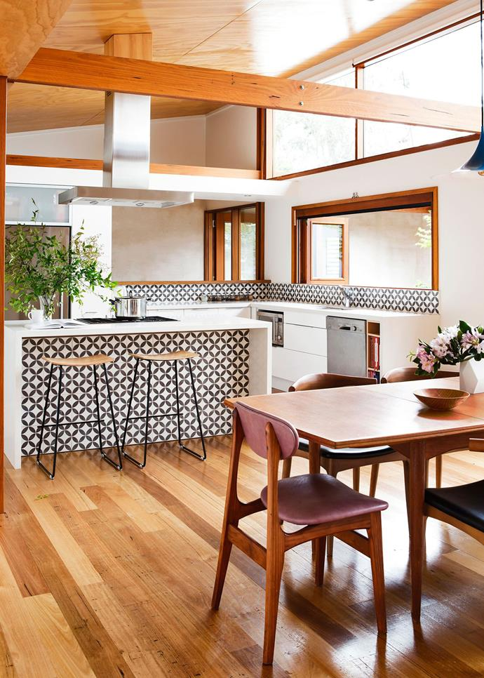 Scandi-style touches help make the kitchen in this [NSW south-coastal home](http://www.homestolove.com.au/contemporary-coastal-home-provides-the-ultimate-sanctuary-2794) feel wholly modern. *Photo: Maree Homer*