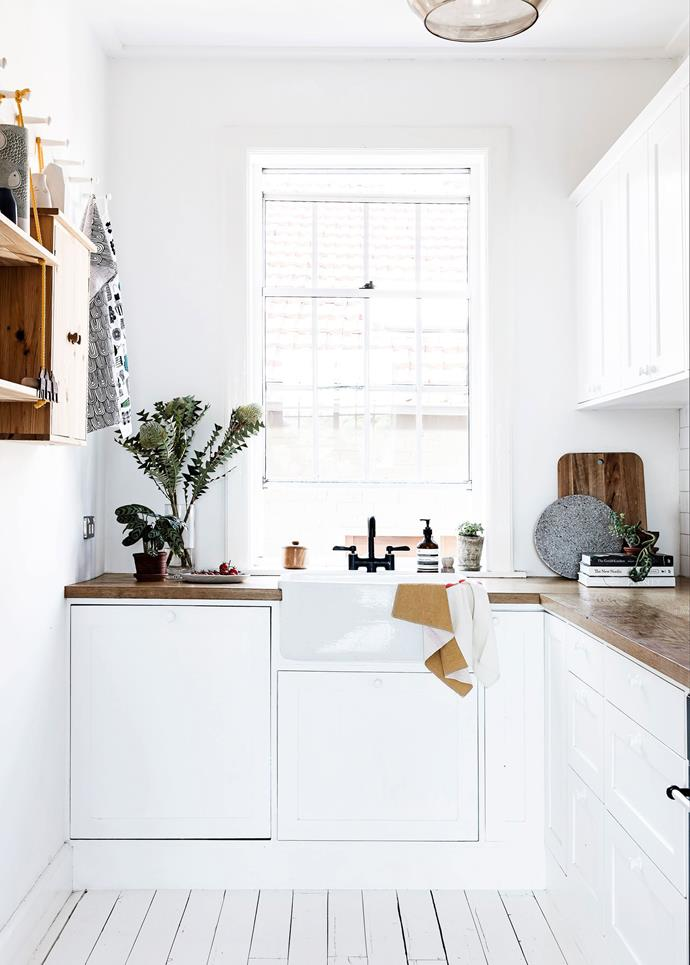 "Capturing light was a huge focus in this [Sydney apartment](https://www.homestolove.com.au/sydney-apartment-gets-swedish-summer-house-makeover-3050|target=""_blank""), heavily inspired by Scandinavian style. Photo: Maree Homer"