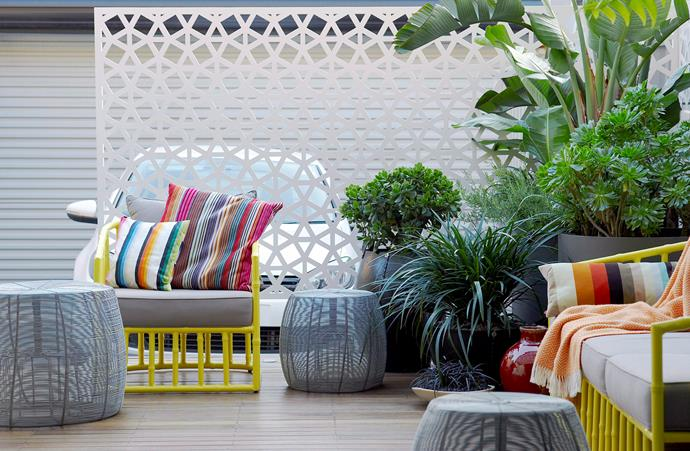 "Screens are having a revival of late and they're popping up in all sizes, materials and finishes – [here are some top picks](http://www.homestolove.com.au/screen-it-how-to-add-privacy-to-rooms-3790|target=""_blank"")."