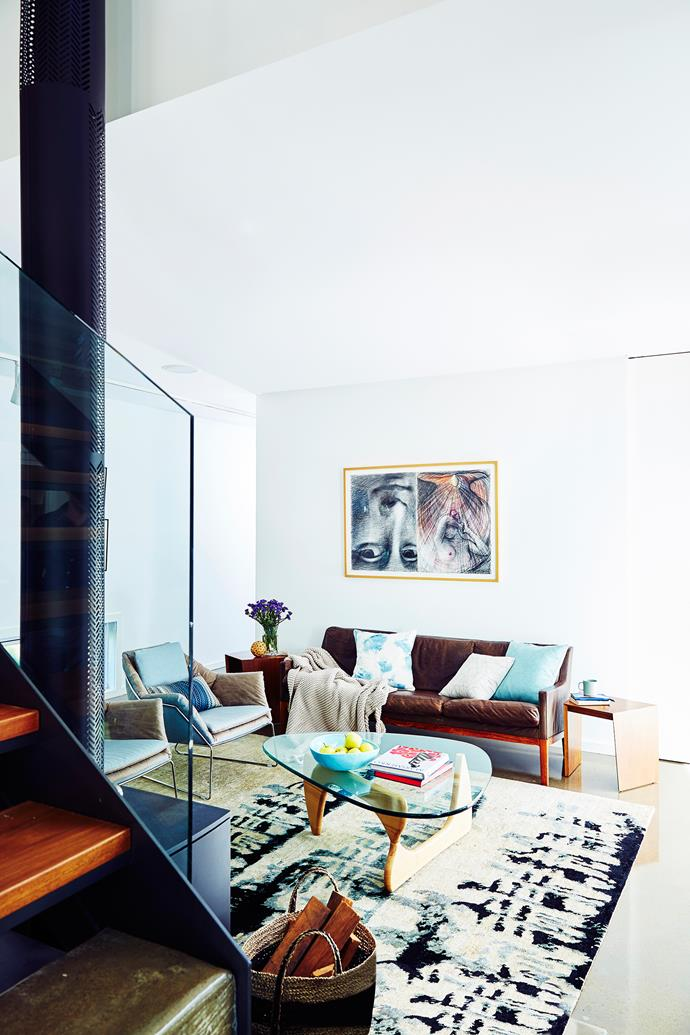 "With the bank balances of two families to consider, cost-effective design was top of mind. ""Every square metre adds to the cost so I was very conscious of the total floor space,"" says Nick. ""The floor plan is highly refined and efficient, with minimal hallways and modest room sizes."""
