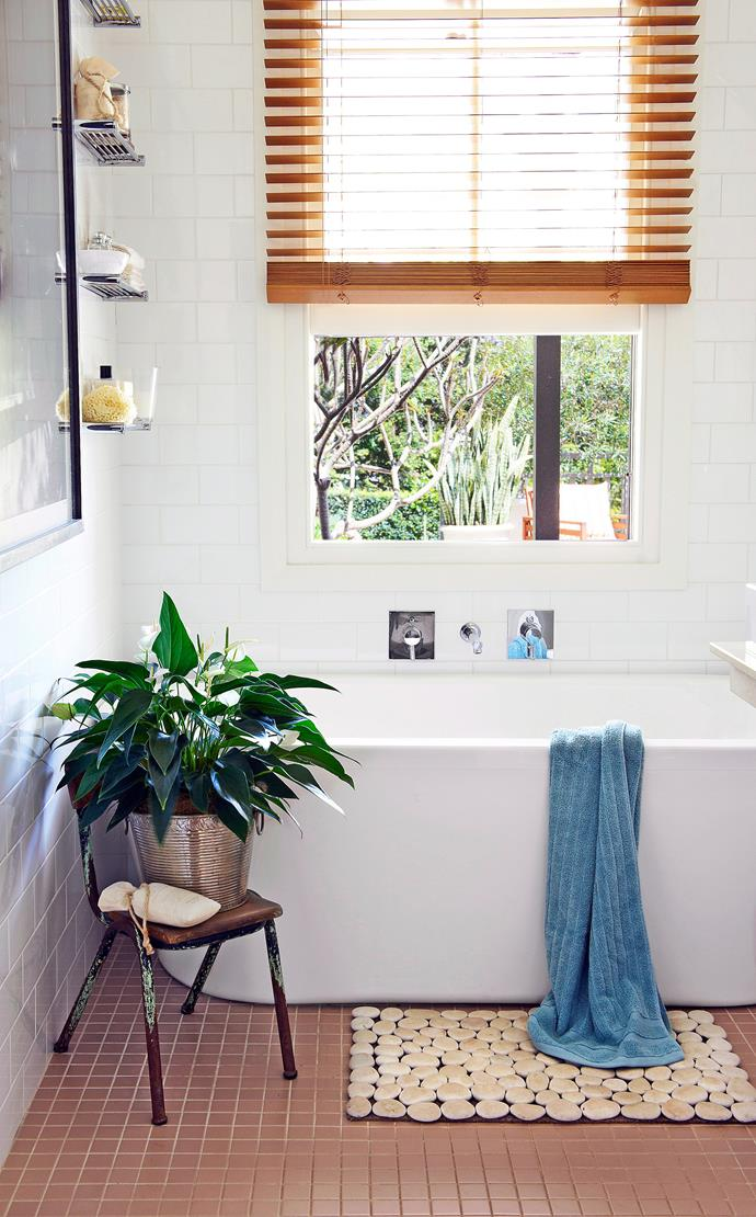 Timber venetians add some texture and colour. Photography: bauersyndication.com.au