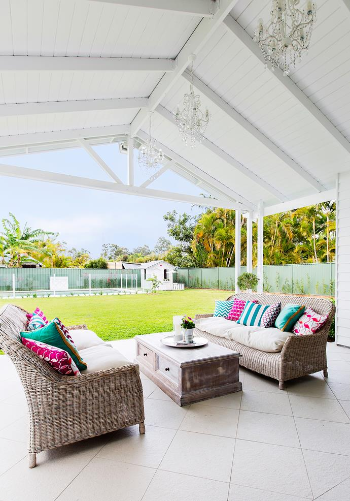 "Tiles are a cool option underfoot in a shaded [outdoor room](http://www.homestolove.com.au/6-outdoor-rooms-that-get-the-balance-right-1649|target=""_blank"")."