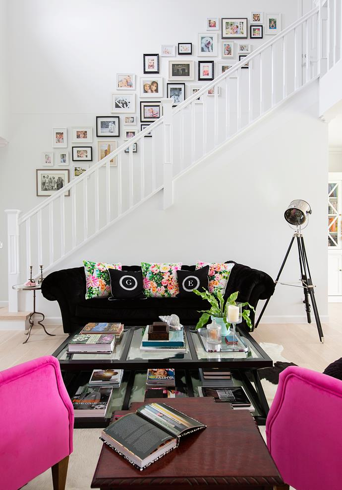 """The staircase was inspired by Emily Jade's favourite film, """"The Sound of Music."""""""