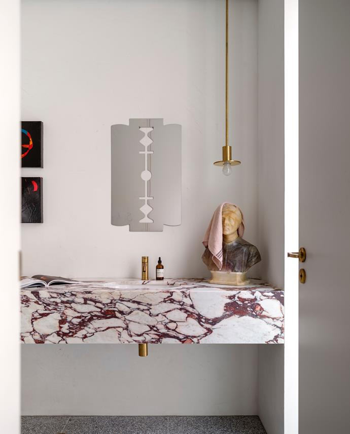 Calacatta Viola marble from Artedomus 