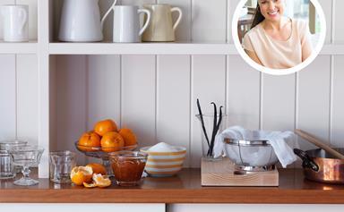A celeb chef reveals the secrets to a perfect pantry