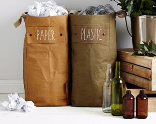 stylish recycling bins