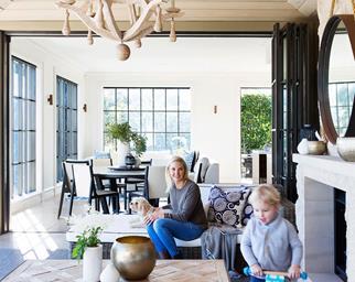 contemporary classic family home