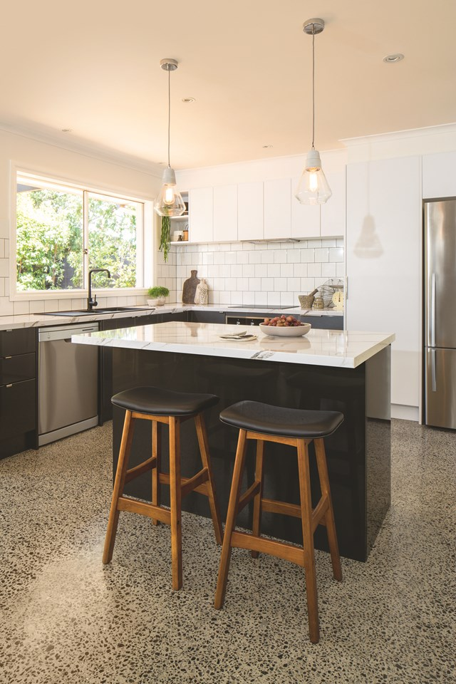 "Check out this real-life [flatpack kitchen reno for inspiration >](https://www.homestolove.com.au/stylish-flat-pack-kitchen-revamp-4998|target=""_blank"")"