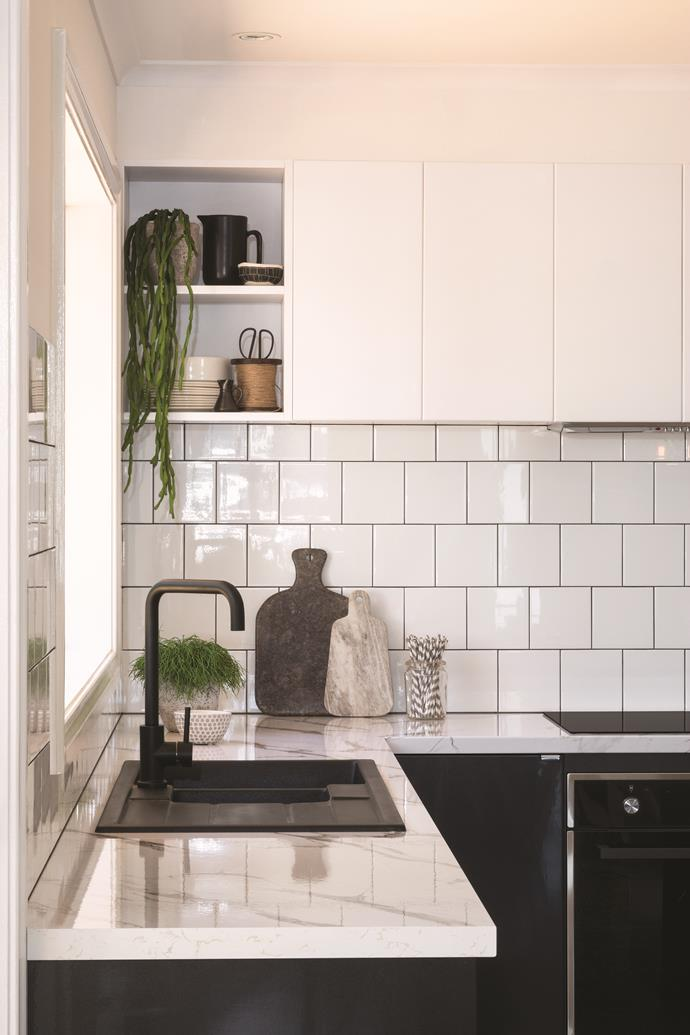"""[Open shelving](http://www.homestolove.com.au/open-storage-ideas-for-kitchens-4714