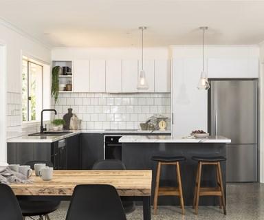 Stylish flat-pack kitchen revamp