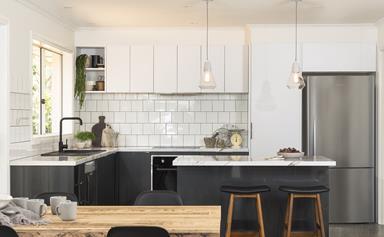 Stylish flatpack kitchen revamp