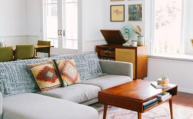A Queenslander home with retro-modern style