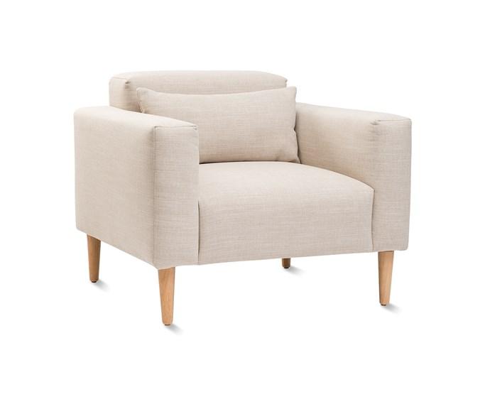 Hem armchair, $2690.