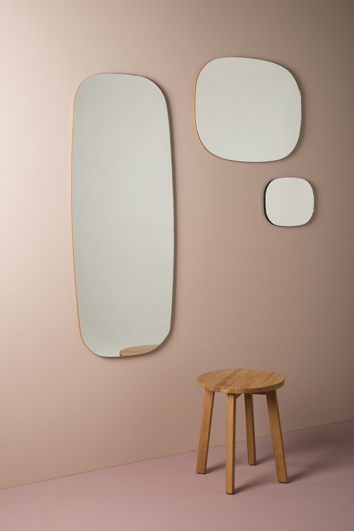 Oval full length, large and wall mirror, from $119.