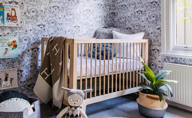 How to create a stylish nursery for less