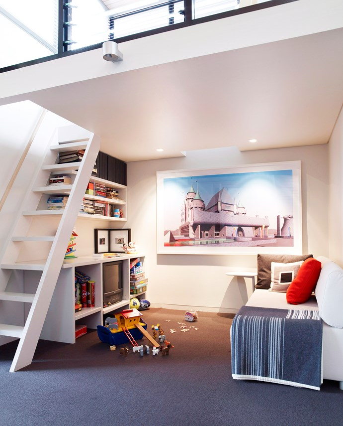 If you can't go out, go up! This works best in family rooms and bedrooms. Derek Swalwell / bauersyndication.com.au