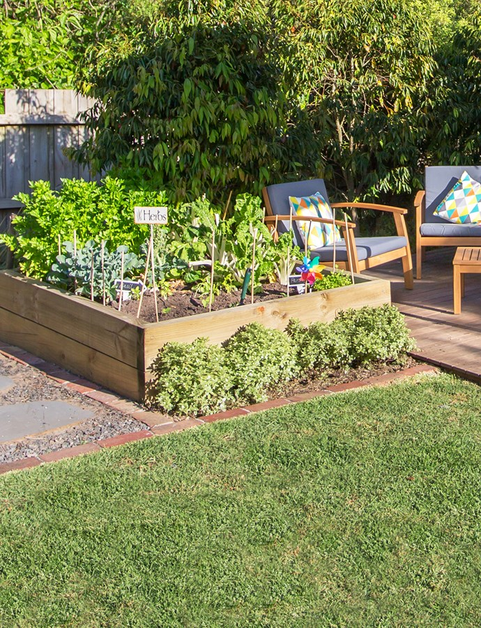 Pick the sunniest spot in the garden to keep your vegetables happy!