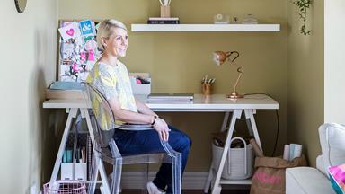 Blogger Yvette Wilson shares her home office styling tips