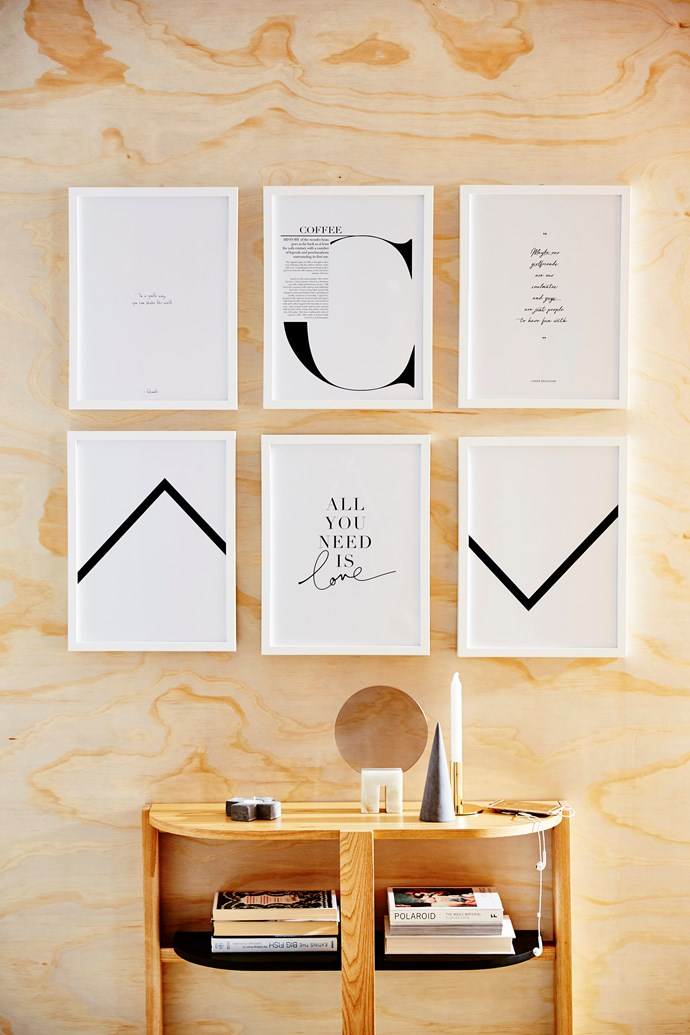 Ribba frames in White, 30cm x 40cm, $9.99 each, from Ikea.