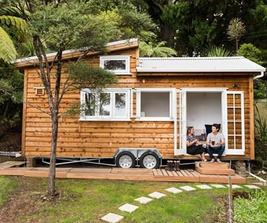 A tiny house with big ideas