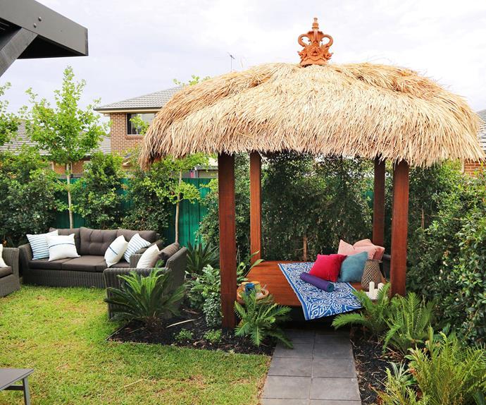 Balinese style garden