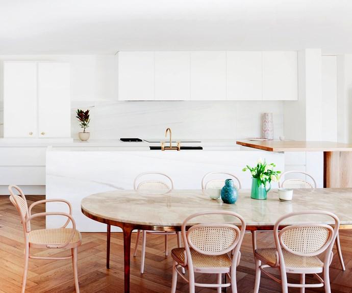 white luxury kitchen