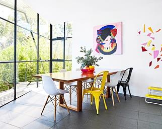 colourful home