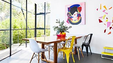A colourful and eclectic mid-century home