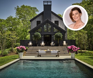 Ellen Pompeo's modern Hamptons home is up for sale